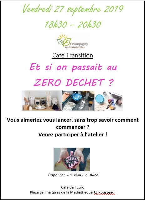 Café Transition Zéro déchet