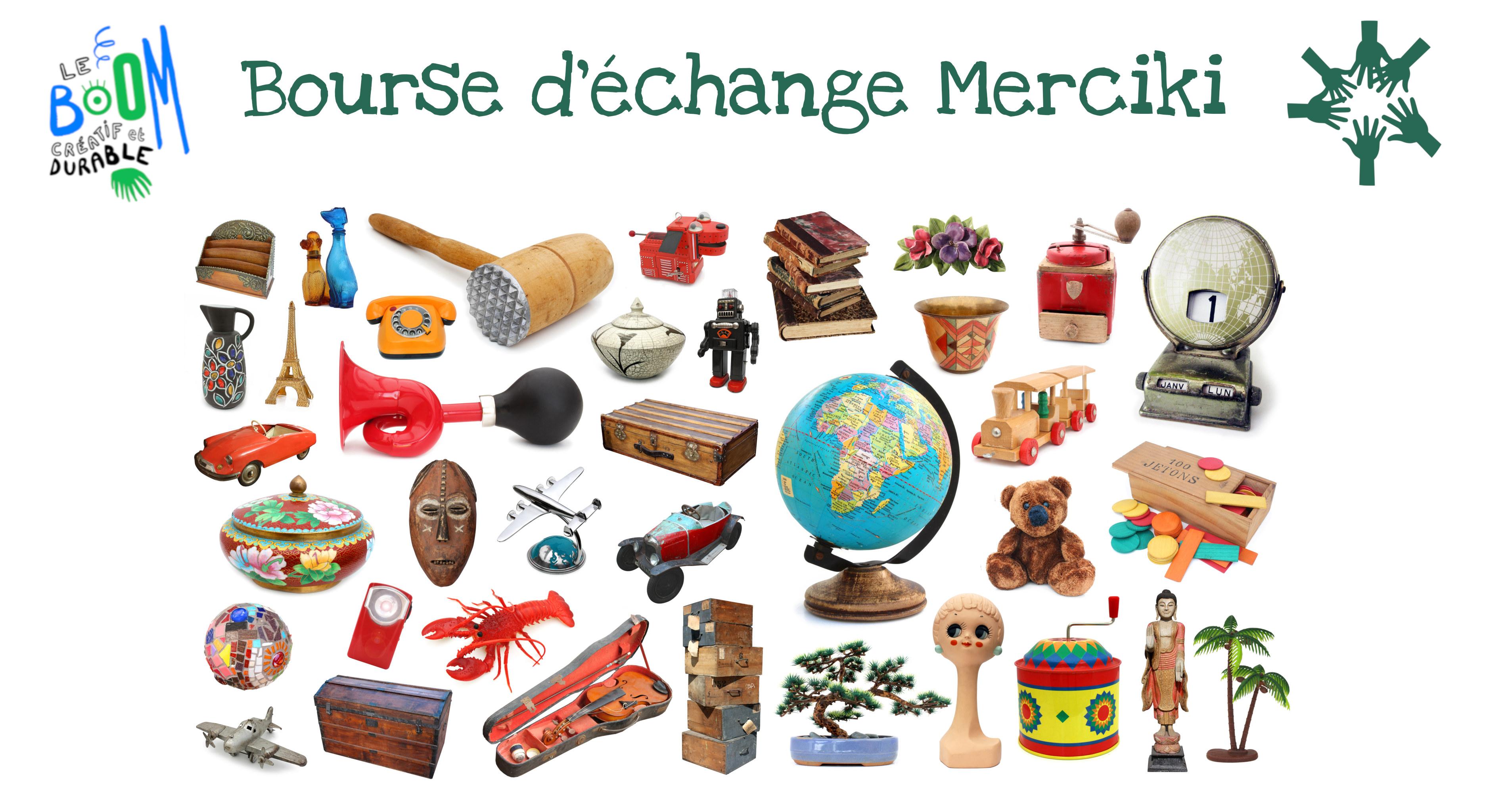 Bourse d'échange Merciki