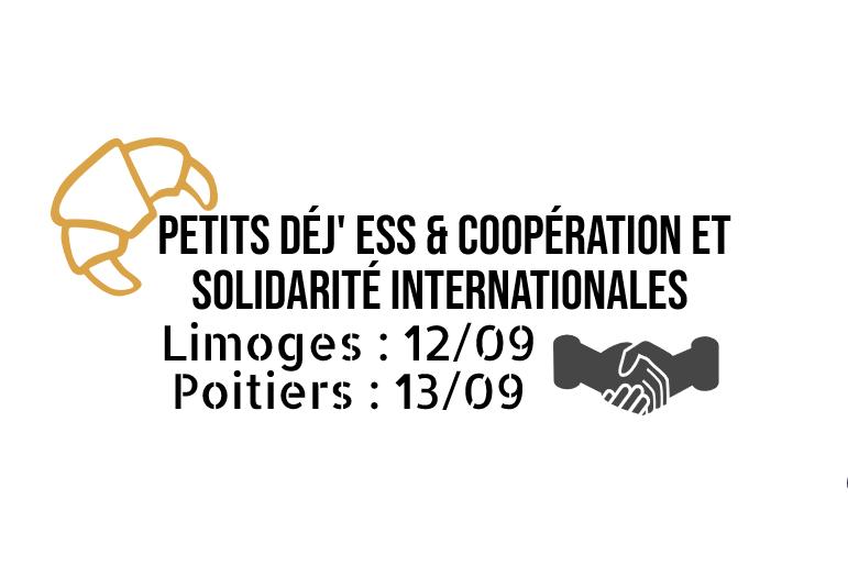 Petit déj' ESS & coopération et solidarité internationales