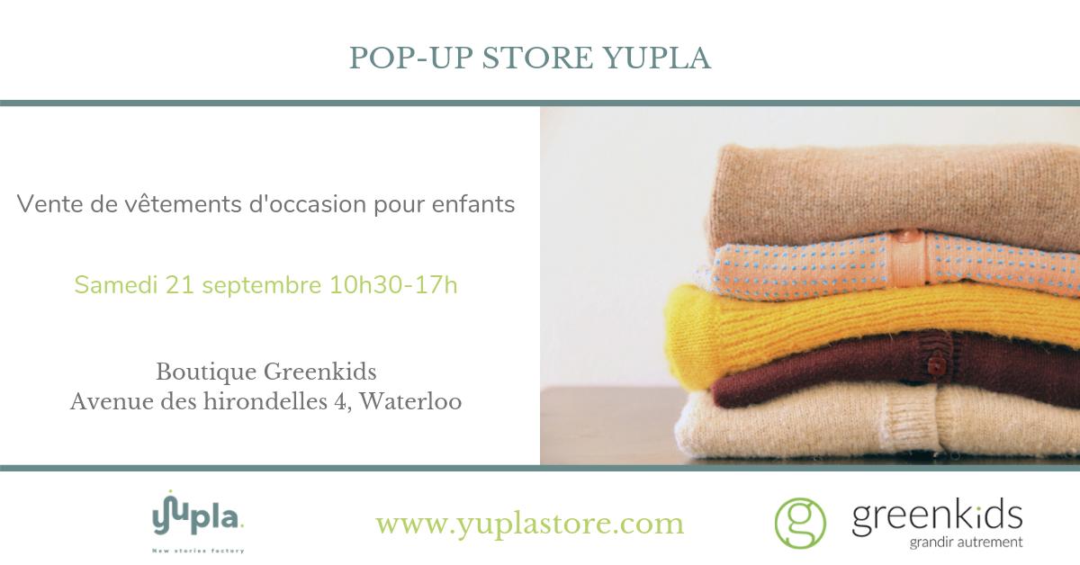Pop-up Store Yupla