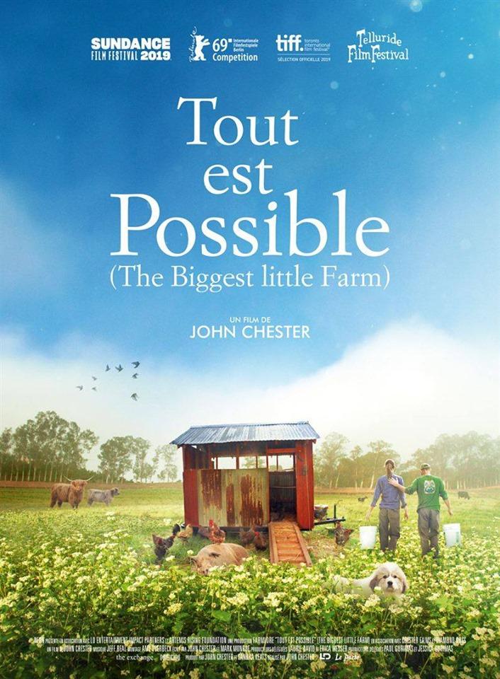 «Tout est Possible » en avant première, avec l'Université Domaine Du possible, Julien Dossier et Sophie Berton