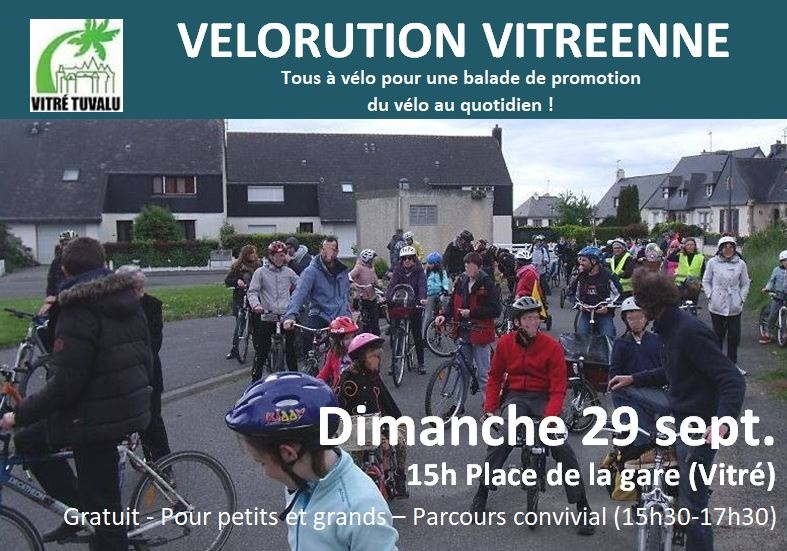 Vélorution à Vitré