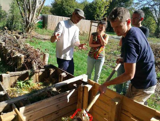 Atelier Toilettes sèches et compostage