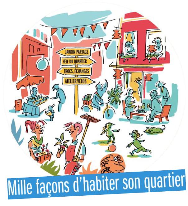 Jeu de piste : à la découverte des habitats participatifs et des iniatives citoyennes de nos quartiers