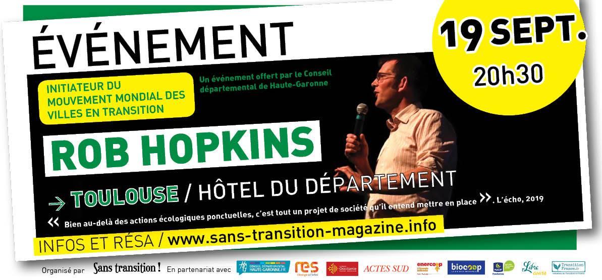 Rob Hopkins à Toulouse