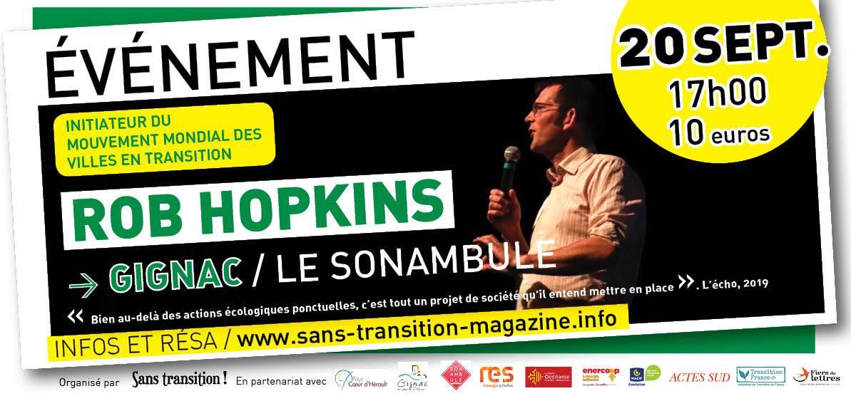 Rob Hopkins à Gignac