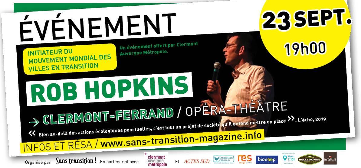 Rob Hopkins à Clermont-Ferrand