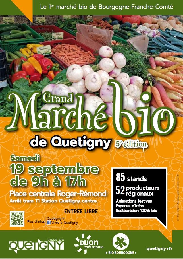 5ème Grand marché bio de Quetigny
