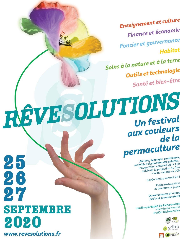 REVESOLUTIONS un festival aux couleurs de la permaculture