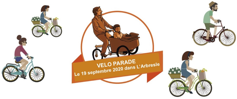 A vélo vers la Véloparade des Naturofolies