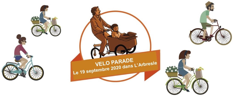 Départ de Sain Bel pour la Véloparade des Naturofolies