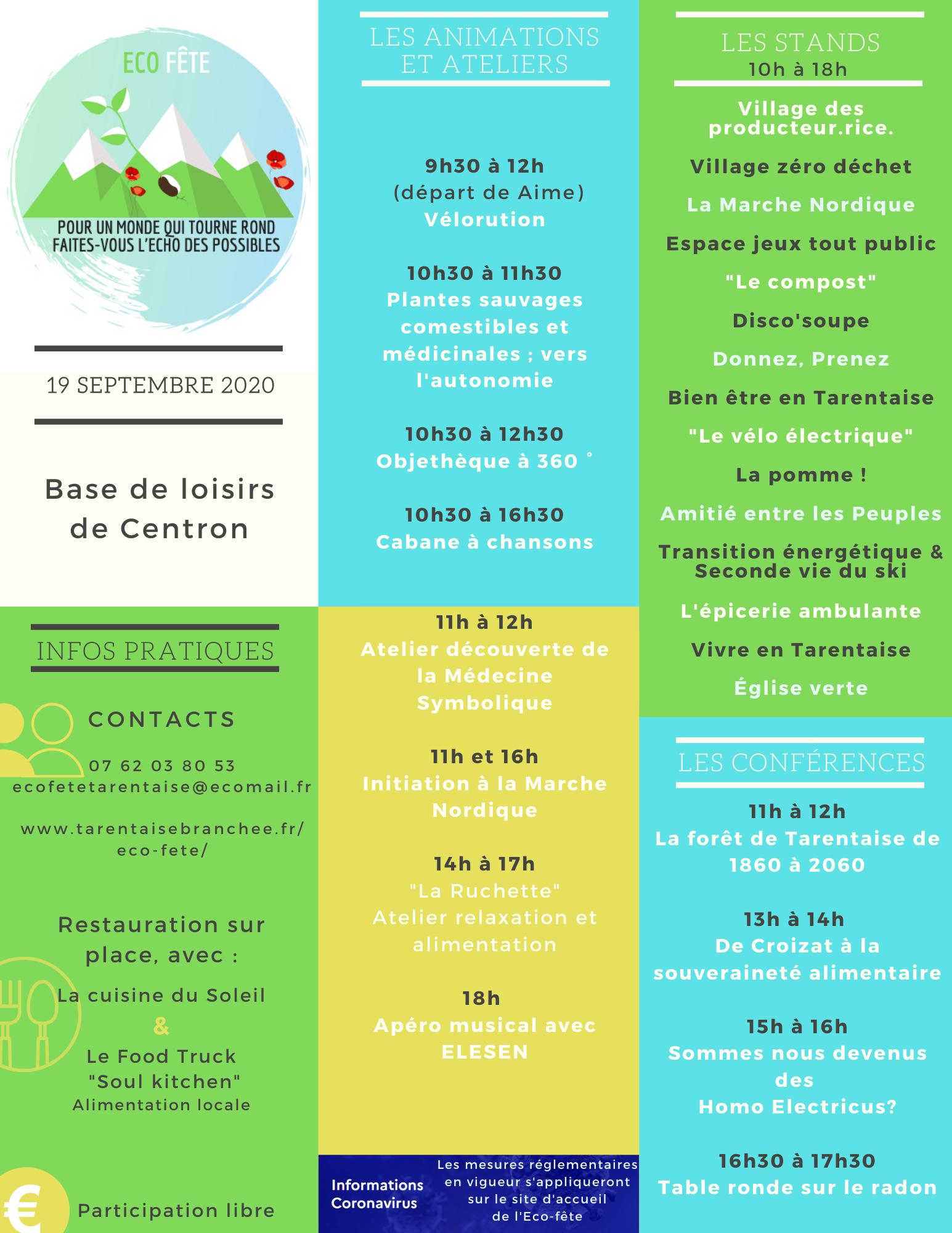 Eco Fête de Tarentaise