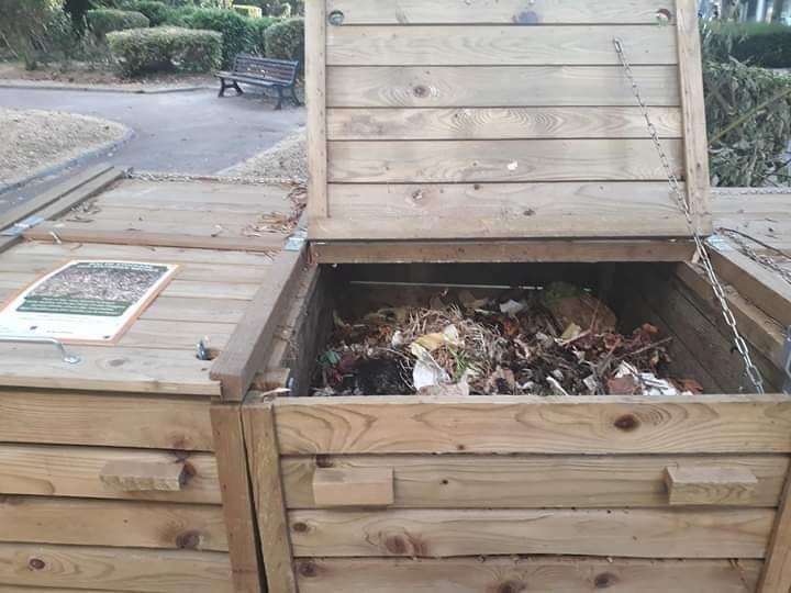 Récolte du compost