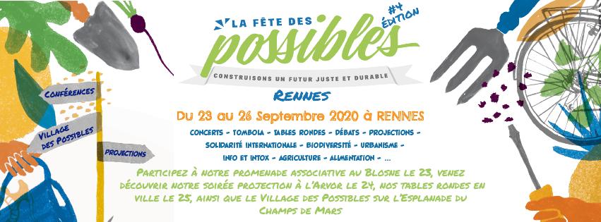 ANNULE – Village des possibles Rennes 2020