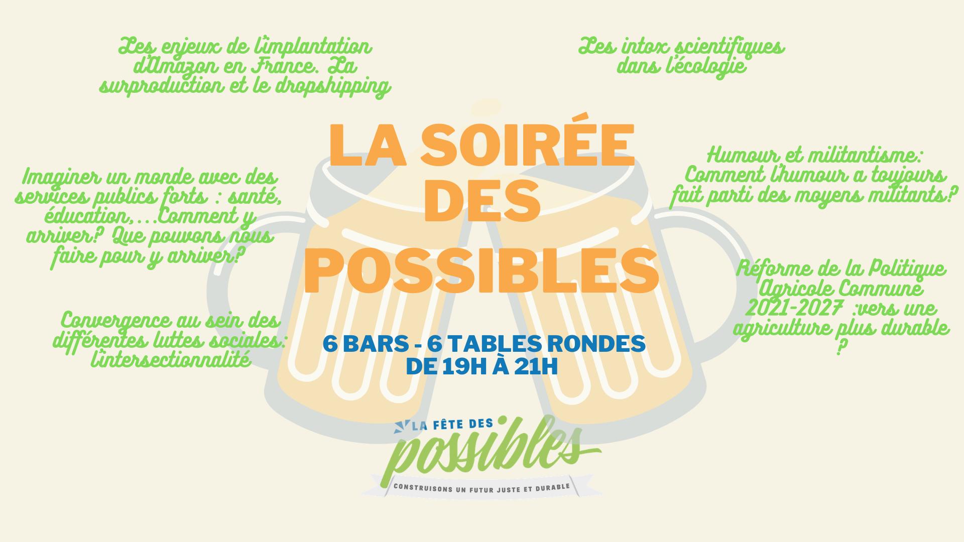 ANNULE – La Soirée des Possibles à Rennes