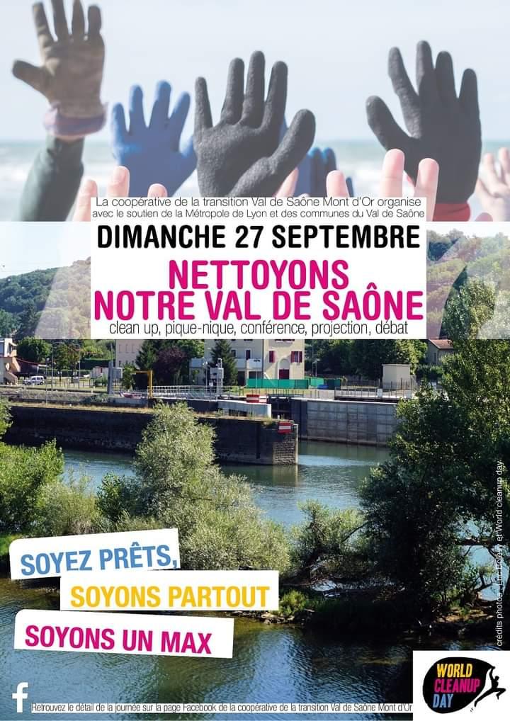 Nettoyons notre Val de Saône !