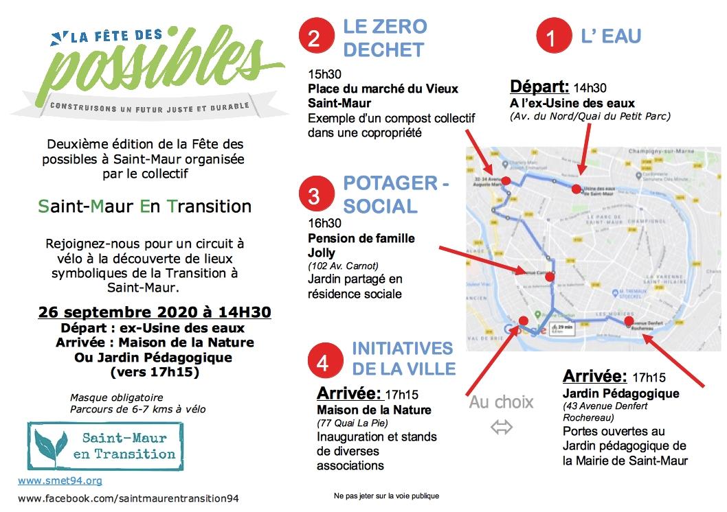 Circuit à vélo à Saint-Maur