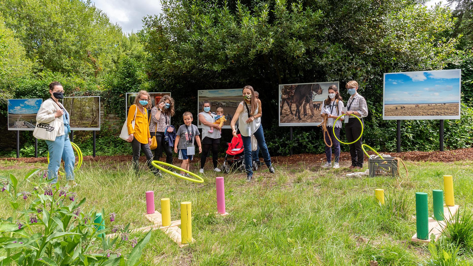 Visite-Jeu en famille – Journées européennes du Patrimoine au Festival Photo La Gacilly