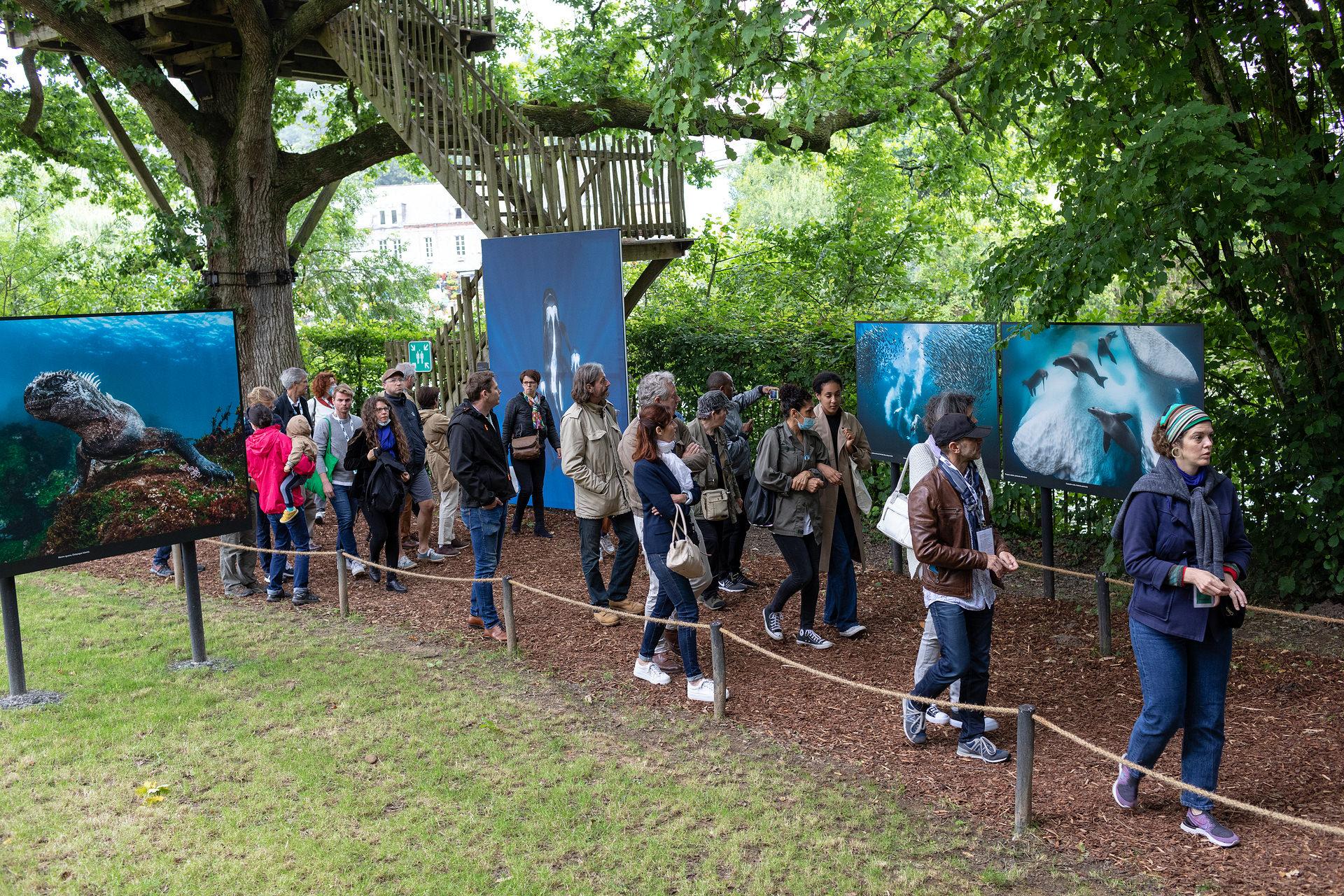 Les coulisses du Festival – Journées européennes du patrimoine au Festival Photo La Gacilly