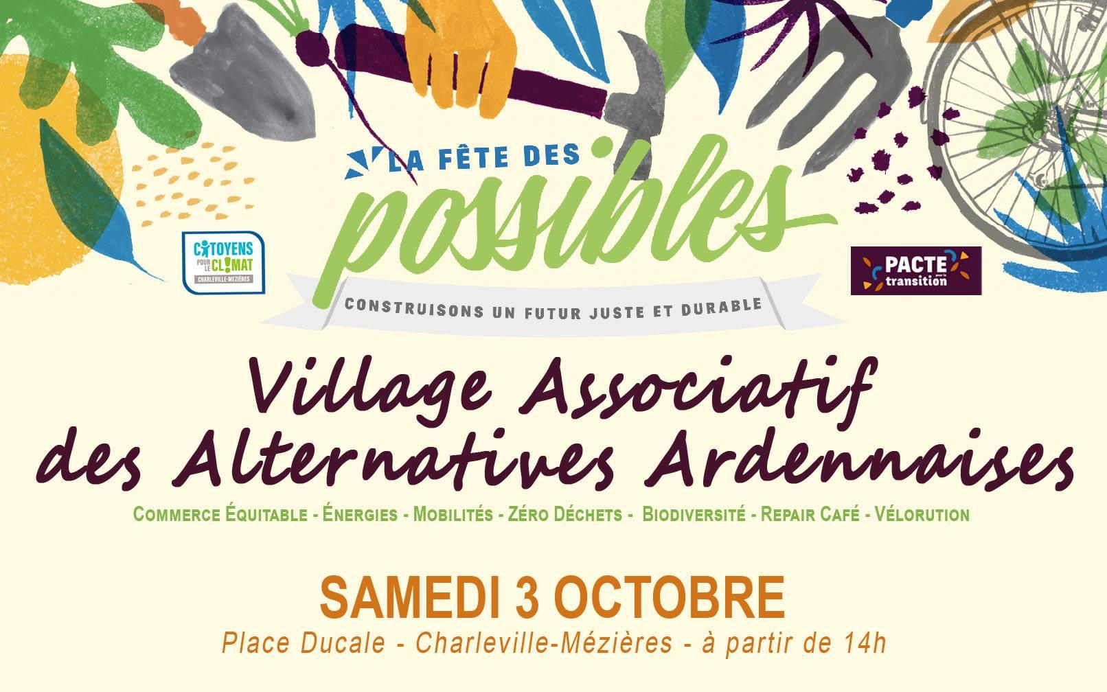 Village associatif et alternatif Ardennais