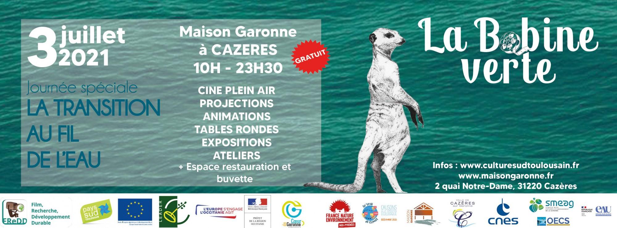 Journée Transition au fil de l'eau à la Maison Garonne