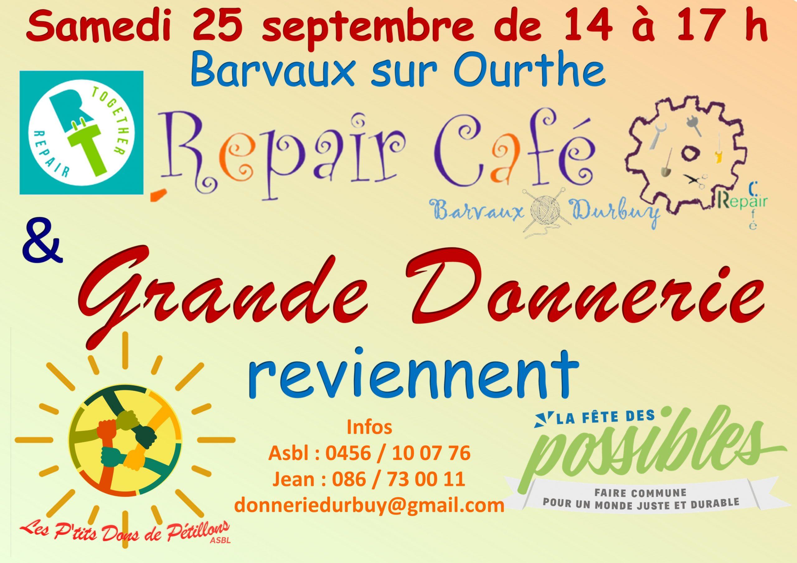Grande donnerie et Repair Café
