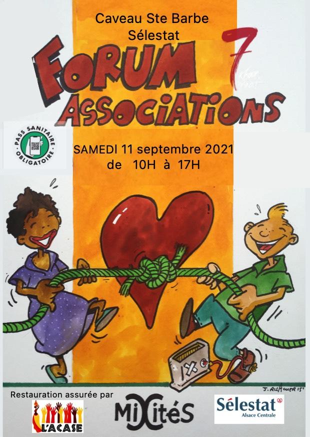 7ème Forum des Associations de Sélestat