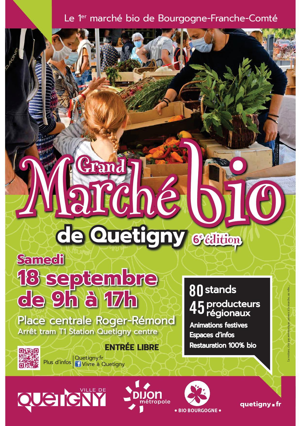 6ème Grand Marché Bio de Quetigny