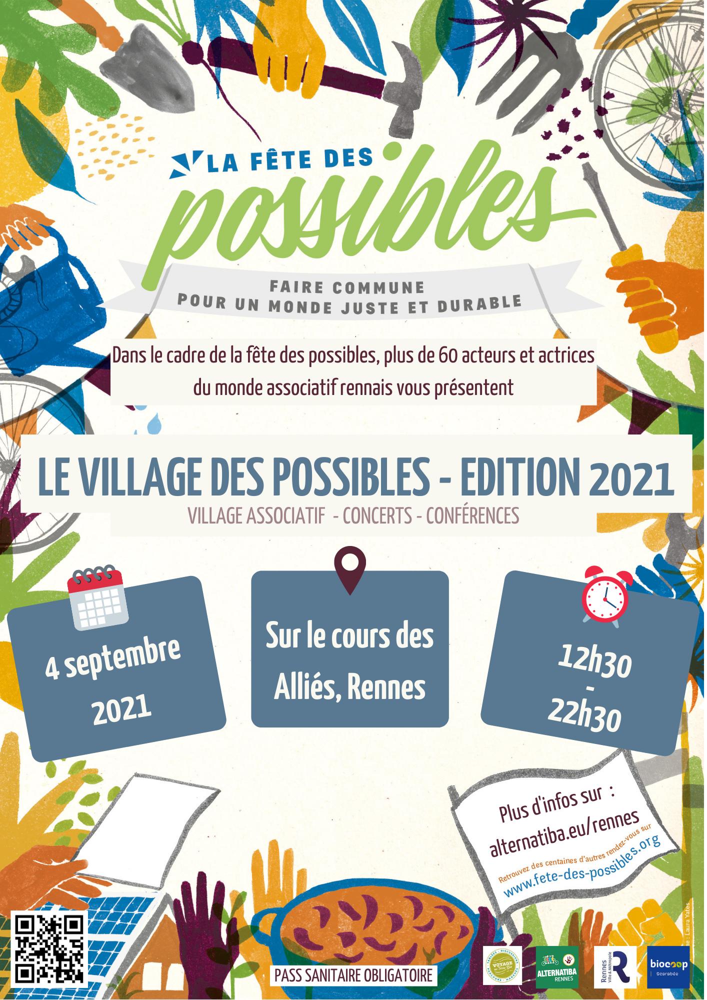 Village des Possibles #4 à Rennes