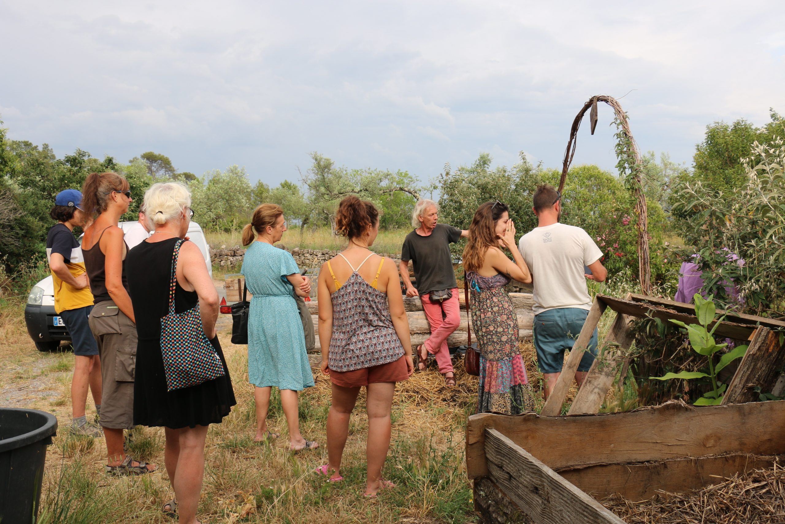 Visite accompagnée des jardins pédagogiques de Terre & Humanisme