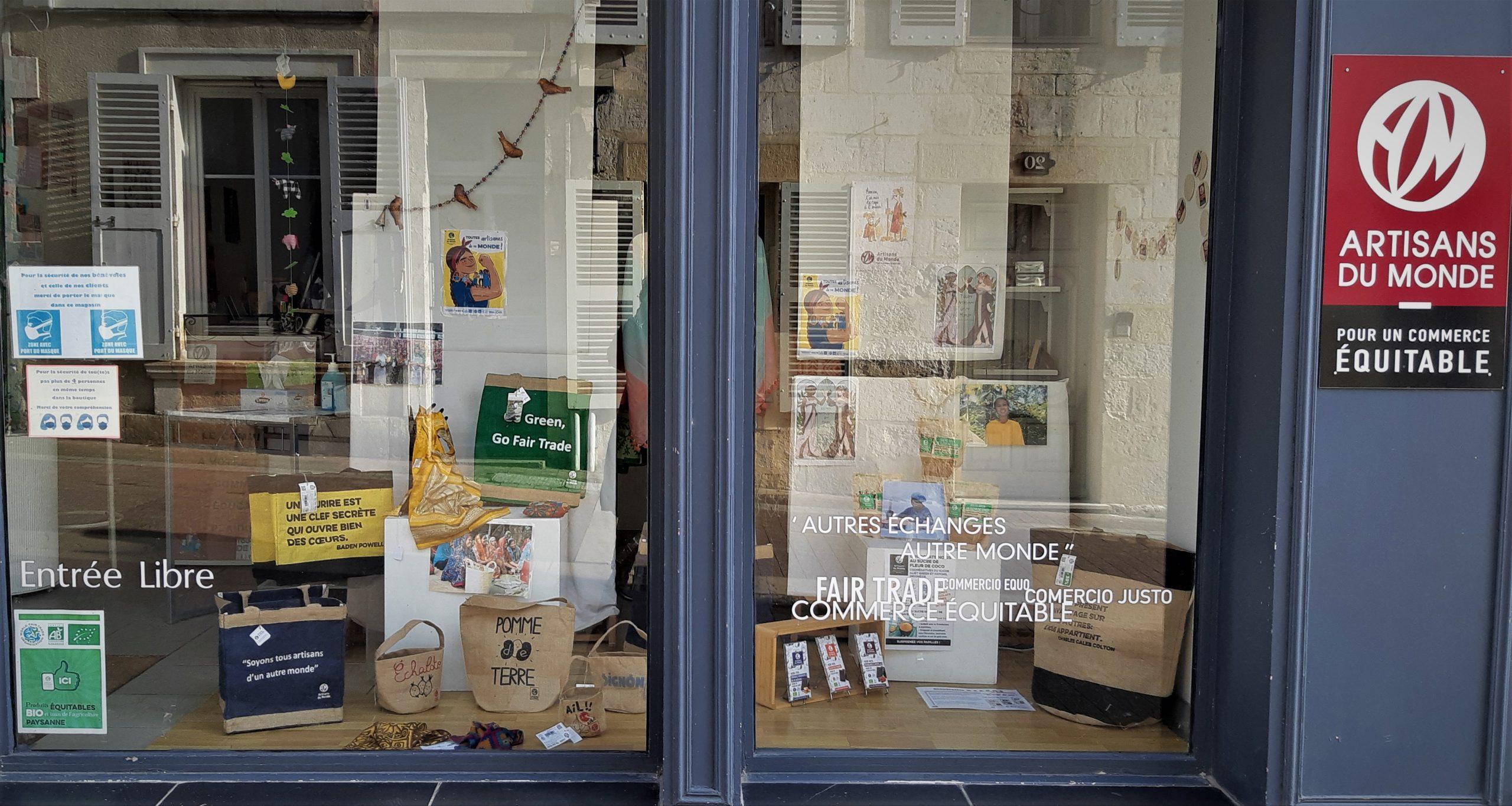 Portes ouvertes de la boutique Artisans du Monde de Bourges