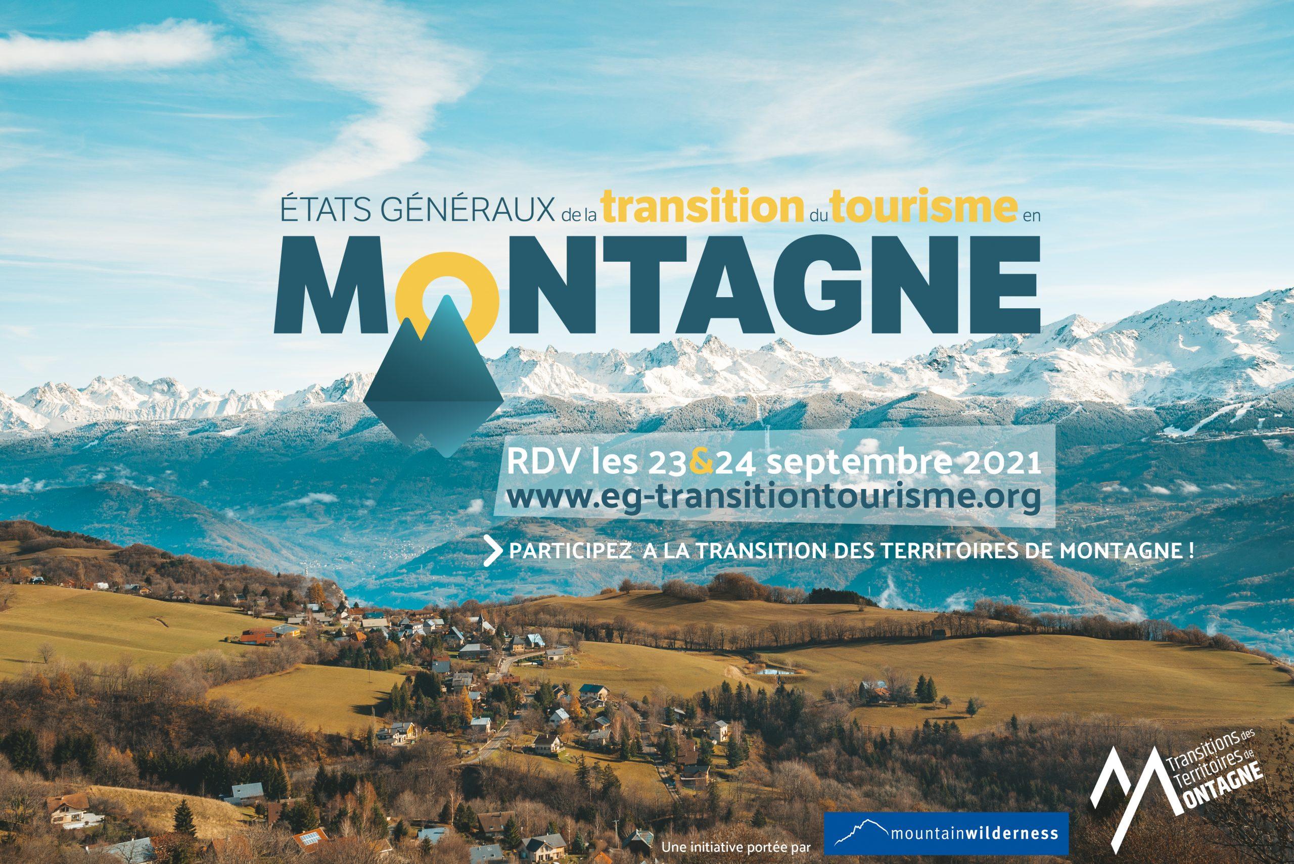 États Généraux de la Transition du Tourisme en Montagne (EGTTM) Montagnes du Giffre