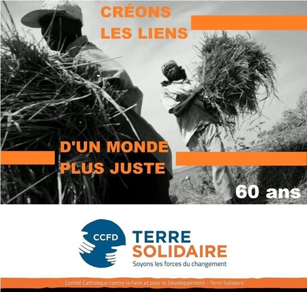 Le tour du monde des solidarités, 60 ans du CCFD-Terre solidaire