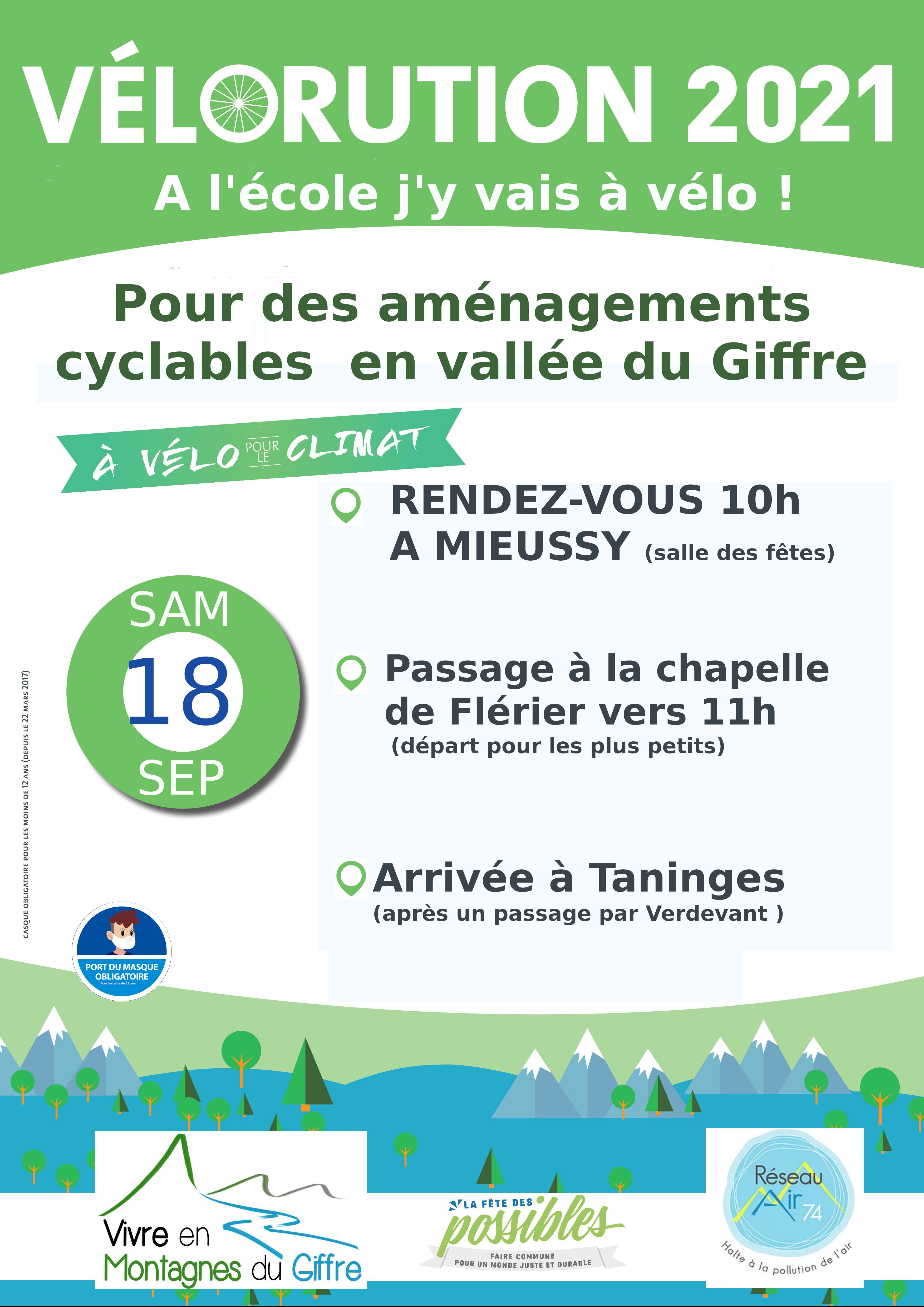 6e Vélorution de Vivre en Montagnes du Giffre (VEMG)