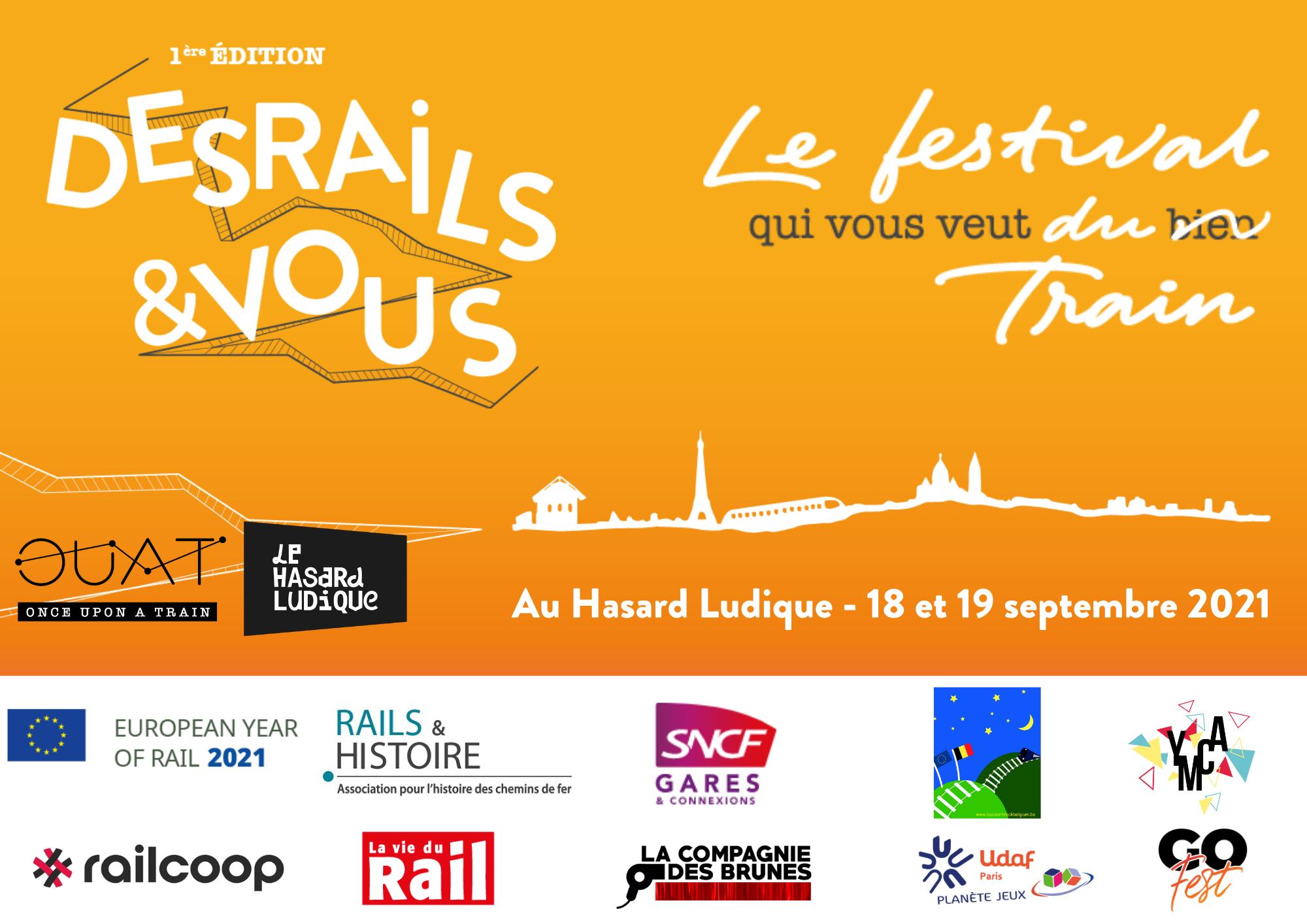 «Des Rails & vous» – un festival qui vous veut du train