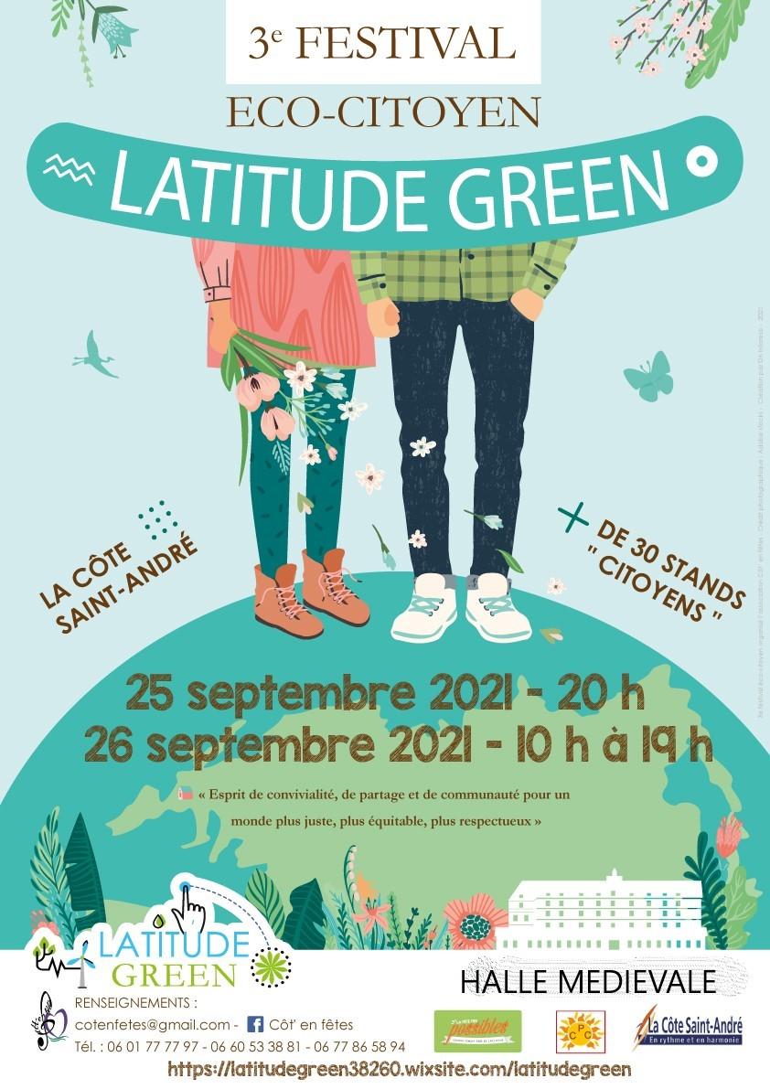 Festival Eco-Citoyen « LATITUDE GREEN »