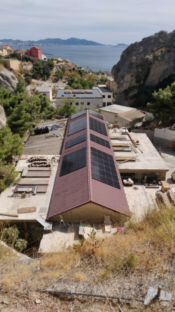 Inauguration de la première centrale photovoltaïque citoyenne à Marseille