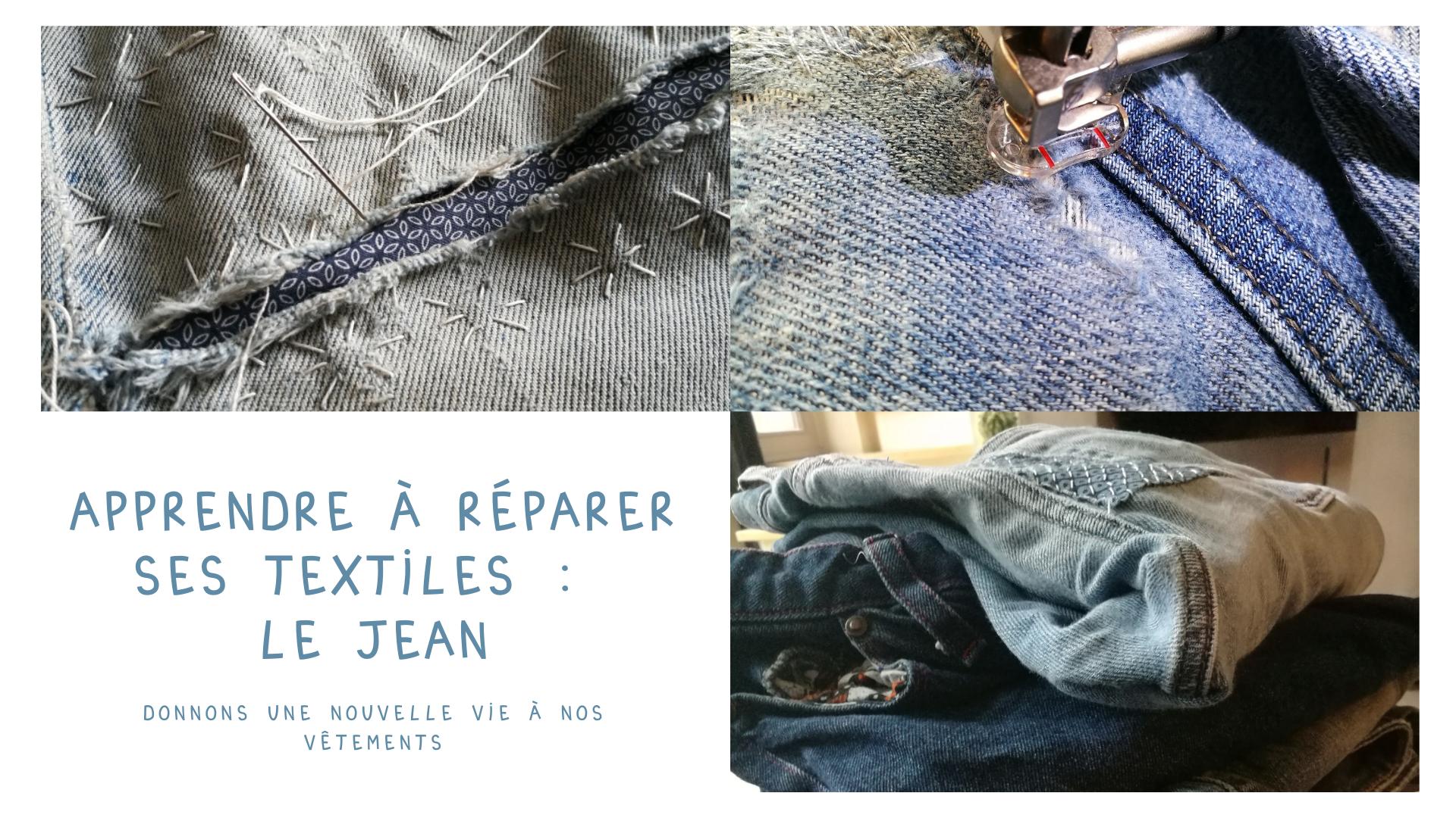 Apprendre à réparer ses textiles : le jean