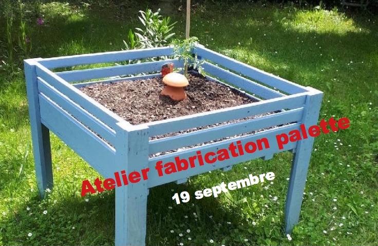 Atelier participatif : FABRICATION EN PALETTE